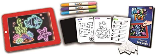 MPAD Magic Pad Magisches Tablet – bekannt aus dem TV, MPAD01, Rot