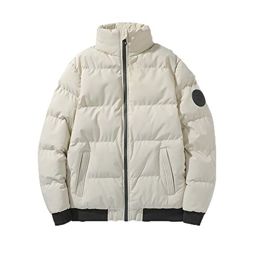 LaiYuTing Neue Winter Gepolsterte Jacke Herren Winter WäRme Und Dicke Plus Size Jacke Winter Gepolsterte Jacke Herren Gepolsterte Jacke