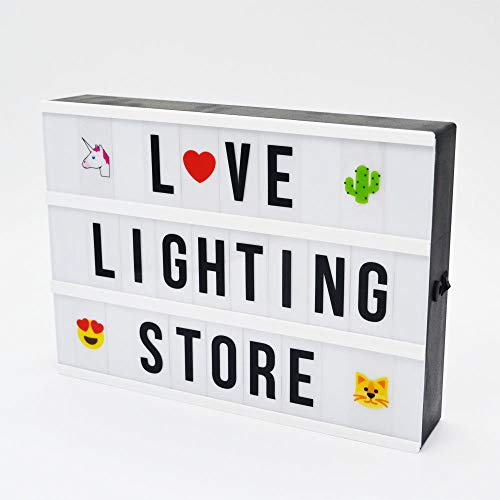 Caja De Luz A4 Led Con Pilas marca Love Lighting
