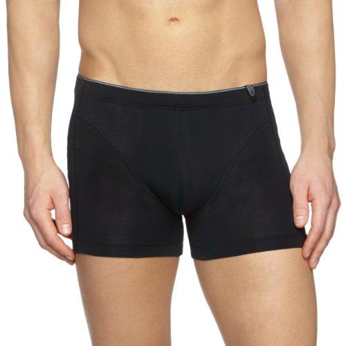 Schiesser Herren Unterhose Shorts 205424, Gr. 10 (4XL), Schwarz (000-schwarz)
