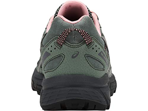 ASICS Women's Gel-Venture 6 Trail Running Shoes, 10M, Slate Grey/Frosted Rose 9