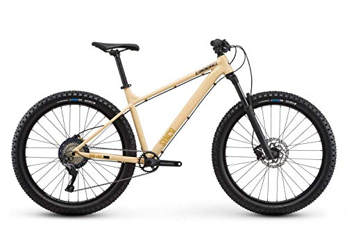"Diamondback Bicycles Sync'r Hardtail Mountain Bike, Tan – Size MD/18"", Fits Height Range..."