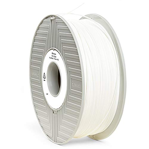 Verbatim 1.75 mm PLA Filament for Printer - White