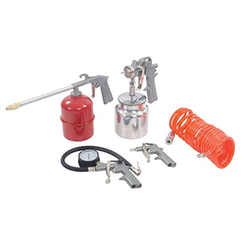 Silverline 633548 Druckluftwerkzeug und Kompressor-Zubehör, 5-tlg. Satz 5-tlg.