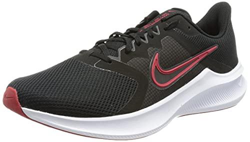 Nike Downshifter 11, Zapatillas para Correr Hombre, Black/University Red-White-dk Smoke Grey, 40 EU