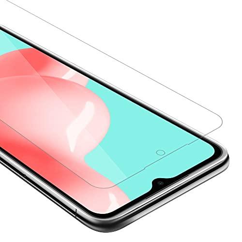 Cadorabo Película Protectora para Samsung Galaxy A72 4G / 5G en TRANSPARENCIA ELEVADA - Vidrio Templado (Tempered) Cristal Antibalas Compatible 3D con Dureza 9H
