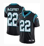 LYLSH Camiseta de Rugby Jersey Football Panthers 22# McCAFFREY Camiseta de Hombre Ropa Deportiva para Adultos y niños (Negro,2XL)