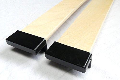 BOSSASHOP.de 10er Paket Kappen zur Befestigung von Leisten im Lattenrost (8mm x 55mm) | 1004