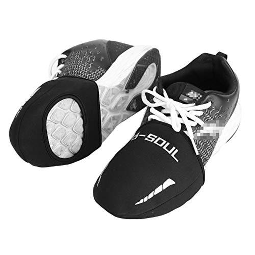 teng hong hui 1 par de Fundas para Zapatos Deportivos Cubrezapatillas de Bicicleta Impermeables Road MTB Bike Zapatillas de Ciclismo de Carretera Cubierta de la Puntera Protector cálido
