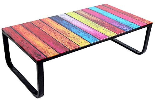 Swithome Table Basse Paxis Multicolore