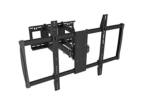 "Black Full-Motion Tilt/Swivel Wall Mount Bracket for Pioneer Electronics PDP-6070PU 60"" inch LED/LCD HDTV TV/Television - Articulating/Tilting/Swiveling"
