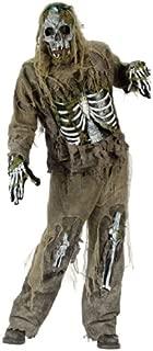 FunWorld Men's Skeleton Zombie Costume