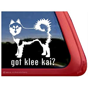 Got Klee Kai? ~ Alaskan Klee Kai Vinyl Window Auto Decal Sticker 9