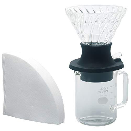 Hario Start-Stop Dripper Set 200ml Handfilter Kaffeebereiter | SSD-5012-B