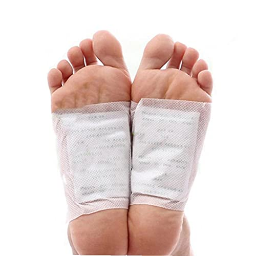 100 Piezas Cojines del pie del pie Natural Premium Parches vinagre de...