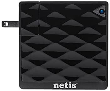 Netis WF2216 Wireless N150 Portable Smart Range Extender with Foldable Wall Mount Power Plug