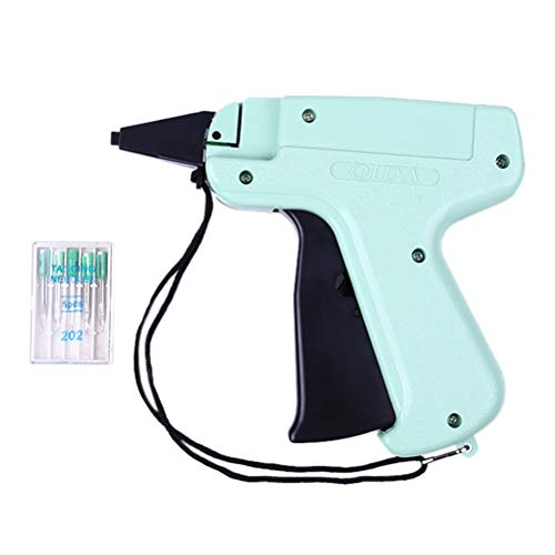 TableRe Clothes Garment Price Label Gun Tagging Tag Gun Comes with 3 inch 1000 Barbs + 5 Needles Set Machine,New