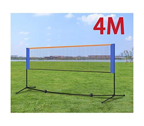 LLJPFD7J Tennis Badminton Net Nylon Woven-Volleyball-Netz for Innen Außen Garten Rasen beweglichen Wettbewerb Badminton-Netz (122 / 165in) for Schule Startseite Sport Club (Color : 3.1m/122in)