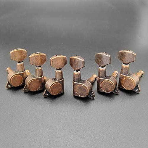 Guitar Parts 18pcs Machine Excellence low-pricing Red Bronze Tuni String Locking