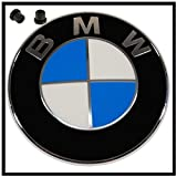 Emblema BMW Original logotipo para el capó incl. Boquillas series 1 34567X1X37X1X3X4X5Z4