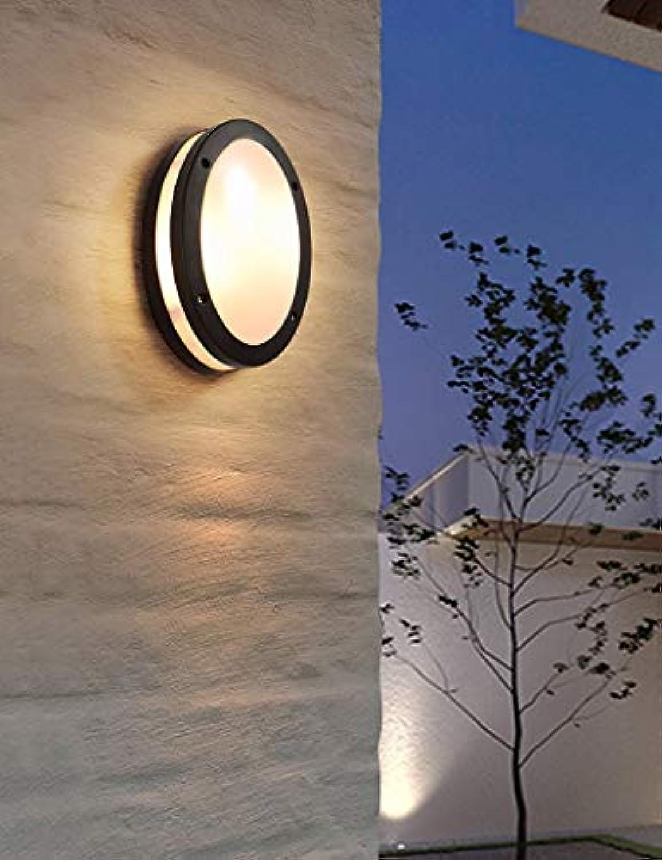 MDD Leichte, moderne, minimalistische, wasserdichte LED-Wand im Freien Gang-Patio-Innenhofwand Gesund und umweltfreundlich Schützen Sie die Augen