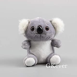 VKISI Real Life Animals Yellow Tiger Gray Koala Plush Keychain Lovely Soft Toys Stuffed Dolls 13 cm U Must Have Gift Basket Childrens Favourites Superhero Birthday Unboxing Box