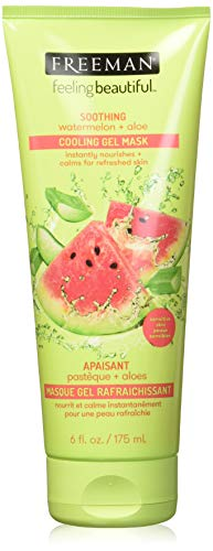 Freeman Facial Watermelon + Aloe Cooling Gel Mask 6oz, 6 Oz