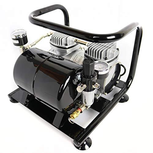 Sparmax AC-500 Airbrush Kompressor mit Tank NEU