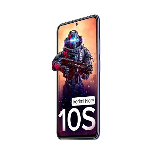 Redmi Note 10S (Cosmic Purple, 6GB RAM, 128GB Storage) - Super Amoled Display   64 MP Quad Camera  NCEMI Offer on HDFC Cards   6 Month Free Screen... 5
