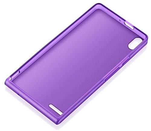 Huawei Ascend P6 Edge TPU Schutzhülle violett