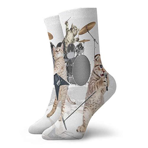 Calcetines de compresión para mujer y hombre, con calcetines de cantante, ideales para circulación, médicos, correr