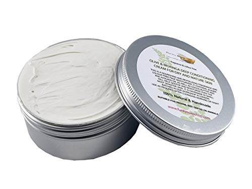 Aluminium Tin, Olive & Moringa Deep Conditioning Cream For Dry And Mature Skin, 150g