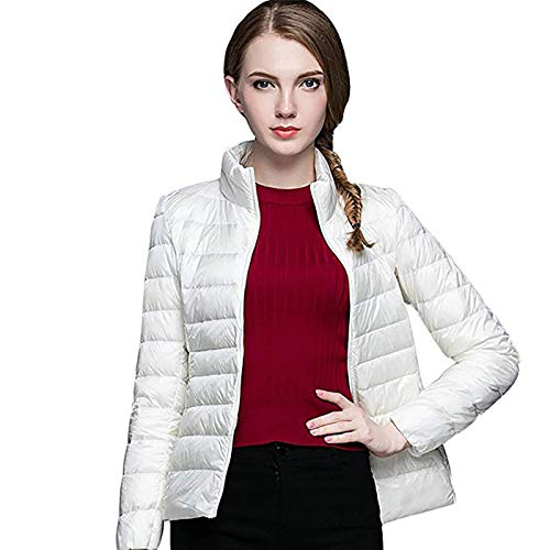 GWELL kurtka puchowa, ultralekka, damska kurtka wiosenna, pikowana kurtka damska, płaszcz przejściowy, na jesień i zimę.