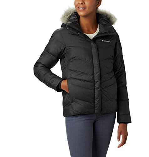 Columbia Women's Peak to Park Insulated Jacket, Black, Small