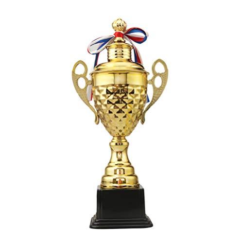 STOBOK medaglie Trofeo Premio d'oro torneo Sportivo Trofeo torneo Onore Trofeo Campione competitivo per Vincitori premi Oscar Hollywood Party concorsi (44cm)