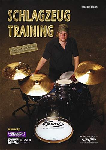 Schlagzeug Training, inkl. Gratis MP3-Download von 12 echten Band-Play-Alongs und 8 Solos: Das amtliche Trainingsprogramm von einem der besten deutschen Rock-Drummer. 140 Seiten purer Groove! Mit-Trommeln war Gestern - Grooven ist Heute!
