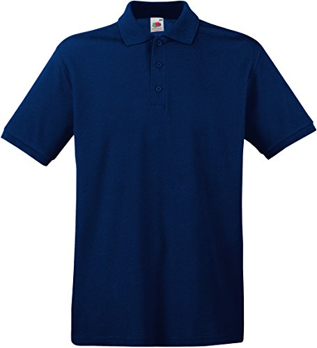 Fruit of the Loom Herren Poloshirt SS035M XL,Navy