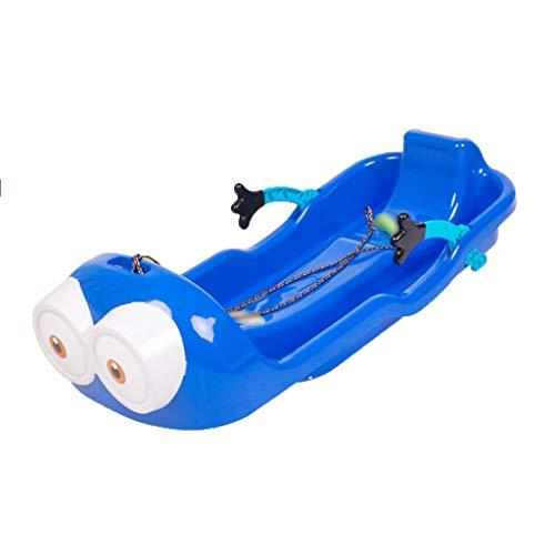 Trineos de nieve Junta Hierba de Trineo Trineo de plástico plástico del Trineo Trineo Snowboard Doble Engrosamiento de Chapa de Arena Junta Conjunto Hijos Adultos de Nieve Trineo Desgaste de Motos de