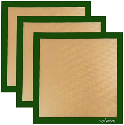 Set of 3-14' x 14' -Silicone Re-Usable Non-Stick Ultra...