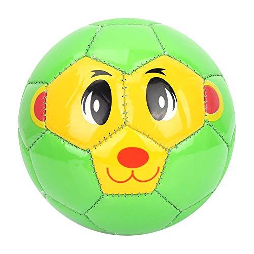SolUptanisu Kinder Fußball, PVC Junior Softball fußball Soccer Ball Innen draussen Sportspiele Ausrüstung Größe 2 (Grünes Schwein)