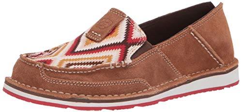 Ariat Women's Cruiser Slip-on Shoe Loafers, Black Bomber, 7.5