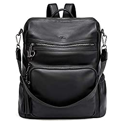 powerful Backpack Purses for Women Fashionable leather designers travel large women's shoulder bags with tassel …