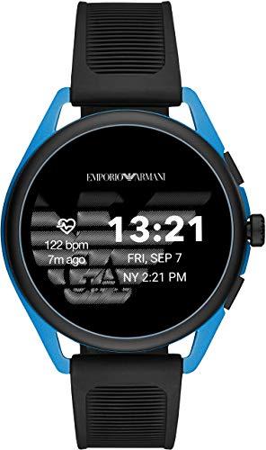 [エンポリオアルマーニ] 腕時計 タッチスクリーンスマートウォッチ ジェネレーション5 ART5024 正規輸入品 ブラック