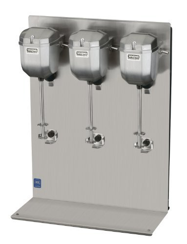Waring Commercial DMC201DCA Heavy Duty Die Cast Metal Triple Spindle Drink Mixer by Waring Commercial Inc. (Kitchen)