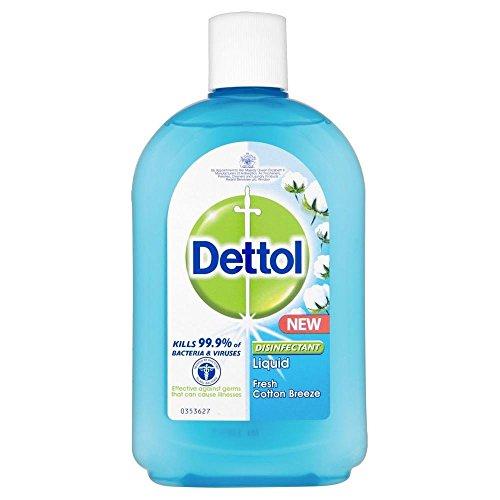 Dettol Disinfettante liquido fresco cotone Breeze (500 ml) - Confezione da 2