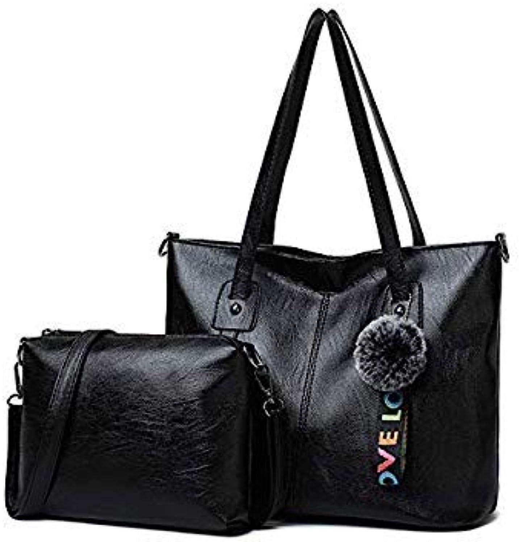 cb2c8ec7886 Bloomerang Purse and Handbags 2 Sets for Women Large Capacity Female ...