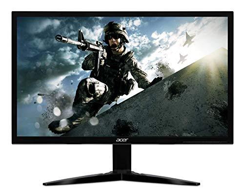 Acer 23.6 inch(59.9 cm) FHD 165Hz Gaming Monitor I 300nits Brightness I AMD Free Sync I 2 x HDMI (2.0) 1 x Display Port (Model : KG241QS)