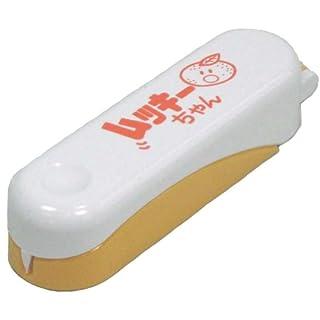 ナガオ 皮むき器 ピーラー ムッキーちゃん オレンジ 9.8cm 箱入り 日本製