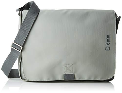 BREE Collection Unisex-Erwachsene Punch 49, Messenger S19 Umhängetasche, Grün (Belgian Block), 37x30x6 cm