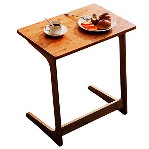 Table De Coin/Table De Loisirs en Informatique Table D'appoint en Bambou De Mode Bureau D'ordinateur Portable De Chevet Coin De Personnalité Table À Thé Zhuo (Size : 60x40x65cm)